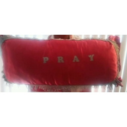 Red Kneeling Prayer Pil..