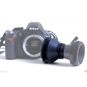 Tilt and shift / freelensing / adapter for NIKON with focus chip