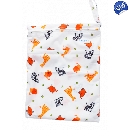 Travel Nappy Bag - Zoo