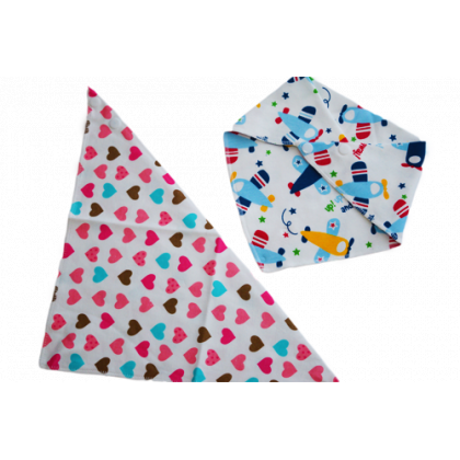 Bandana Bibs Triangular