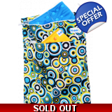 Travel Nappy Bag - Swirly Whirly