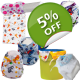 Newborn Starter Pack - Washable Nappies