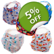 Regular Bundle [Option One] x 5 - Washable Nappies