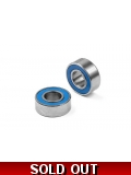 HIGH-SPEED BALL-BEARING 6x13x5 RUBBER ..