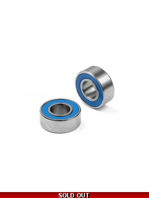HIGH-SPEED BALL-BEARING 6x13x5 RUBBER SEALED  2