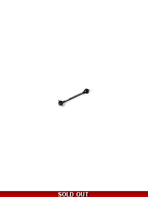 "ECS ES DRIVE SHAFT 52MM FOR 2MM PIN - HUDY SPRING Steelâ""¢ 1"