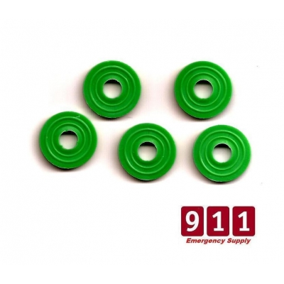 Medical Yoke Gas Seal CO2 Oxygen Washers Valve to Regulator Pack of 10