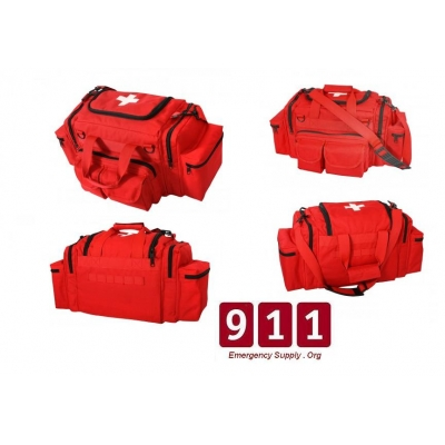 Large Trauma Bag With Optional Supplies Stocked