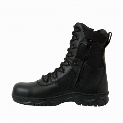 "8"" Forced Entry Side Zip Tactical Boot"