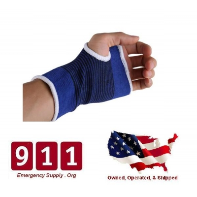 Palm Wrist Hand Support Glove Elastic Brace Sleeve