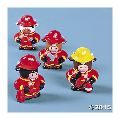 Fireman Cows. Vinyl. Assorted