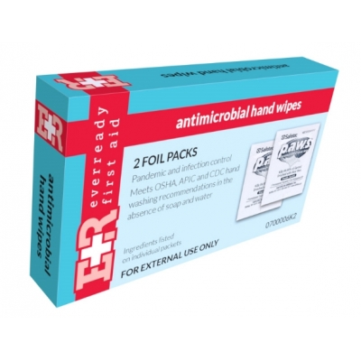 Kit Box Refill Antimicrobial Hand Wipes