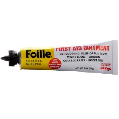 Foille Burn Cream Tube 1/2 oz