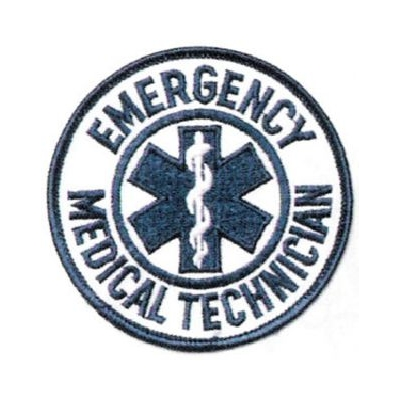 Emergency Medical Technician Round Patch