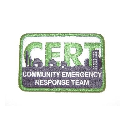 FEMA C.E.R.T. Logo Embroidered Patch