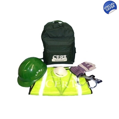 Basic 5 Compartment Backpack CERT Kit 1