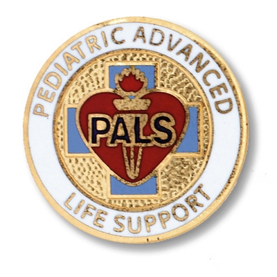 Pediatric Advanced Life Support Pin PALS