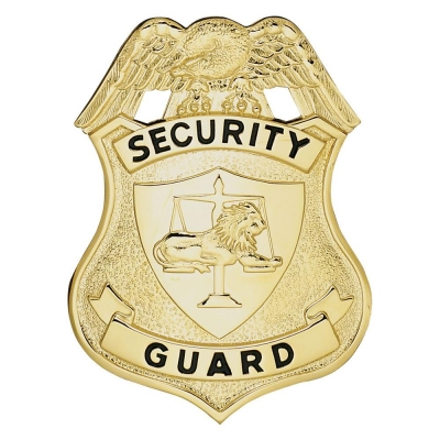 Security Guard Shield Badge