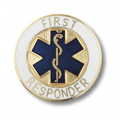 First Responder Collar Pin