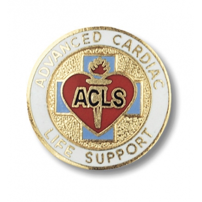 Advanced Cardiac Life Support Collar Pin