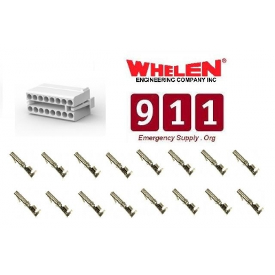 Whelen 16 Pin O Female Siren Plug With Sockets
