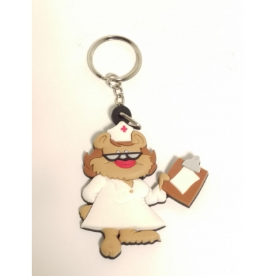 Nurse Bear Key Chain Closeout