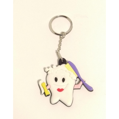 Tooth Dentist Key Chain Closeout