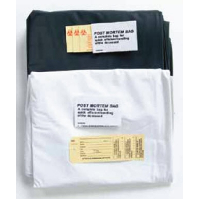 Body Bag Standard Weight White