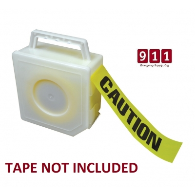 Barricade Tape Dispenser Fire Line Caution Firefighter Crime Scene