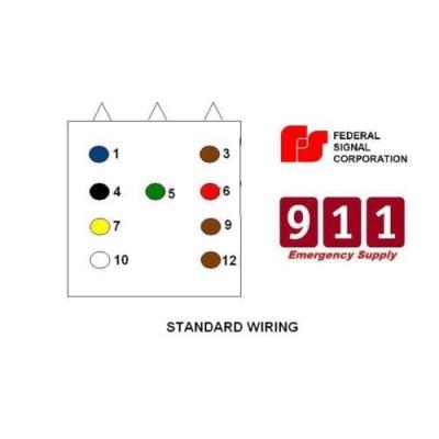 federal pa300 wiring diagram wiring diagrams PA 300 Wiring Diagram