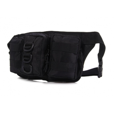 Tactical Molle Fanny Waist Pack Trauma Bag 3 Module