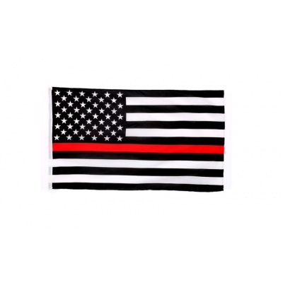 Thin Red Line USA American Flag