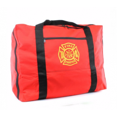 Exclusive Firefighter Turnout Gear Bag Red
