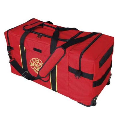 Mega Oversized Jumbo Firefighter Gear Bag Red