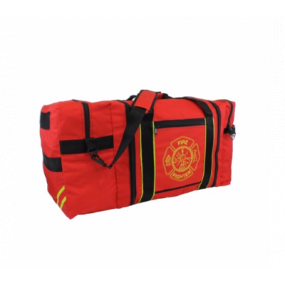 Jumbo Oversized Firefighter Gear Bag Red