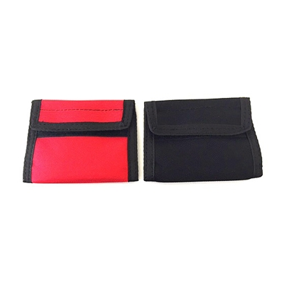 Double Glove Case Slide On Nylon Velcro Top
