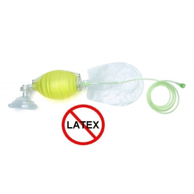 The Bag II Resuscitator BVM Bag Valve Mask Laerdal