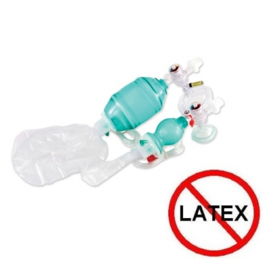 Adult Airflow Manual Resuscitators Bag Valve Mask BVM Adult