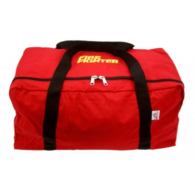 Red Firefighter Gear Bag Supersized