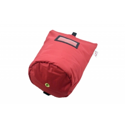 Air Pack Lined Mask Bag Red