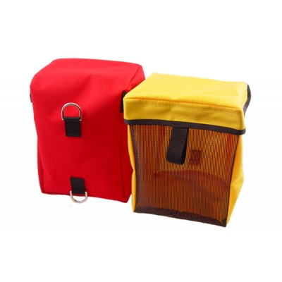Vented Air Mask Bag Red