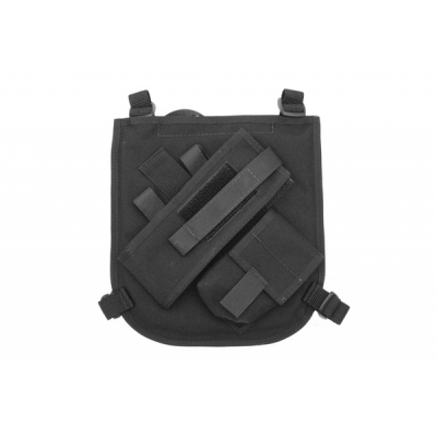 Radio Chest Harness Black Nylon