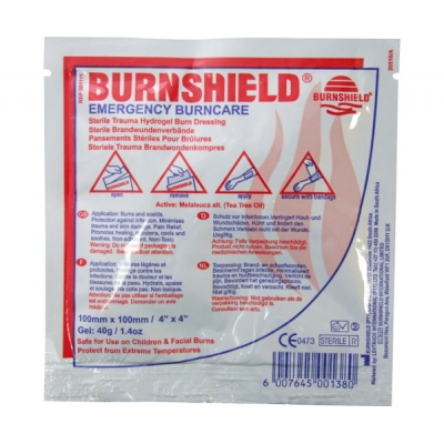 Burnshield Sterile Gel Dressing 4 X 4