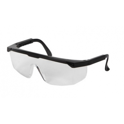 Black Frame Basic ANSI OSHA Safety Glasses