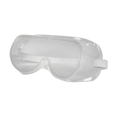 Clear Vented Basic ANSI OSHA Safety Goggles