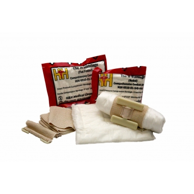H Bandage Tactical Compression Dressing 8 X 10