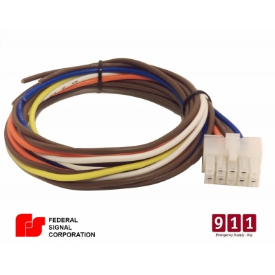 Federal Signal Siren Power Harness 10 Pin Cable PA300 690000