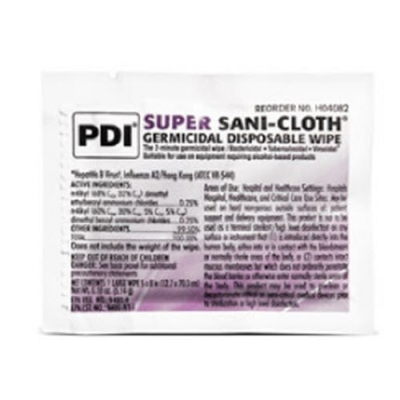 Surface Disinfectant Super Sani-Cloth® Premoistened Wipe Pack of 10