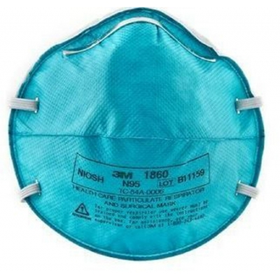 N95 Particulate Respirator / Surgical Mask 3M™ Cone Headband