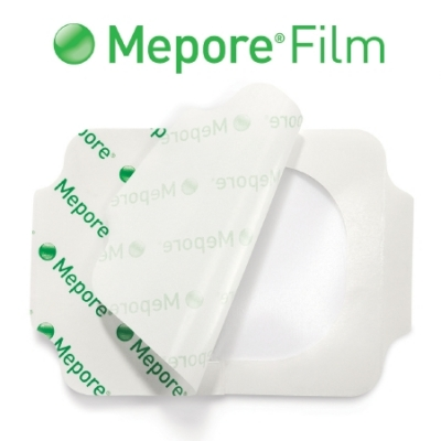 Transparent Film IV Dressing Mepore® Film Rectangle 2-2/5 X 2-3/5
